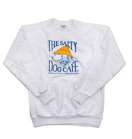 Youth Crew Neck Sweatshirt in White