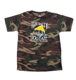 Code V Youth Camo Tee in Green Camo