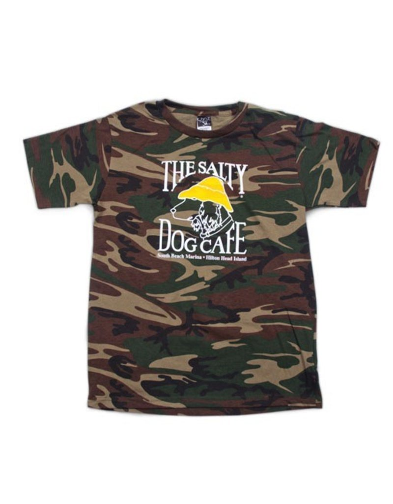 Specialty Prints Youth Camo Tee in Green Camo
