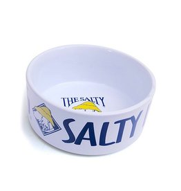Salty Dog 6 inch Ceramic Dog Bowl