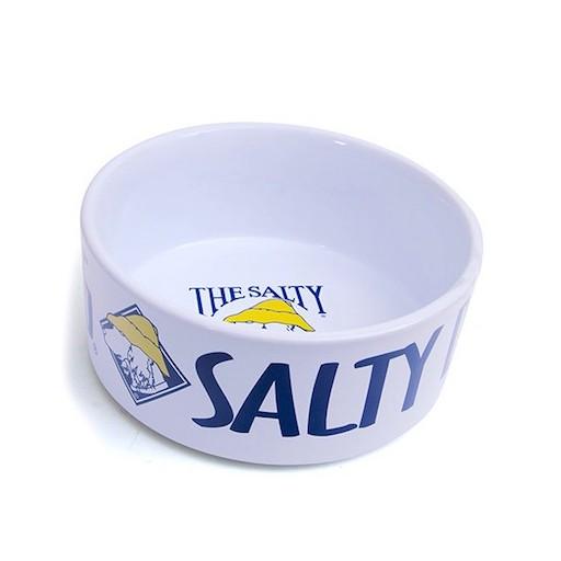 Salty Dog 6 inch Ceramic Dog Bowl