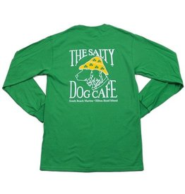 T-Shirt St. Patty Dog Long Sleeve Tee