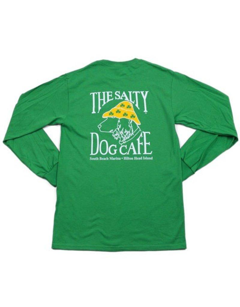 T-Shirt St. Patty Dog Long Sleeve Tee
