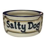 Louisville Stoneware 7 in Stoneware Dog Bowl