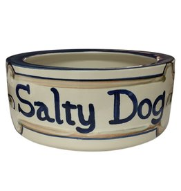 Louisville Stoneware 9 in Stoneware Dog Bowl