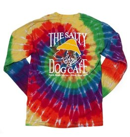 T-Shirt Long Sleeve Rainbow Swirl Tie-Dye