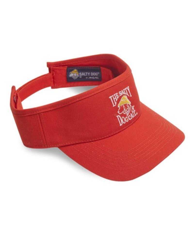 Hat Youth Visor in Orange