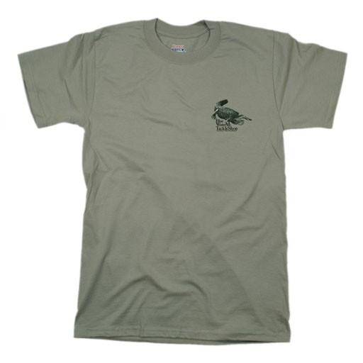 Hanes Blue Water Short Sleeve Alligator Tee