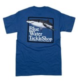 Hanes Blue Water Short Sleeve Shark in Denim