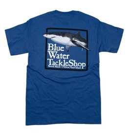 Bluewater Blue Water Short Sleeve Shark in Denim