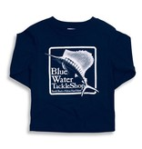 Bluewater Blue Water Youth Long Sleeve in Navy