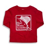 Bluewater Blue Water Youth Long Sleeve in Red