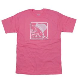 Hanes Blue Water Youth Short Sleeve in Pink