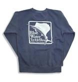 Comfort Colors Blue Water Stonewashed Sweatshirts in Denim