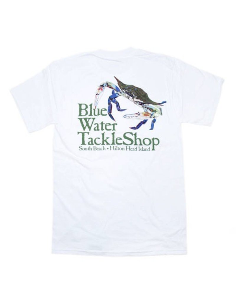 Bluewater Blue Water Short Sleeve Crab in White