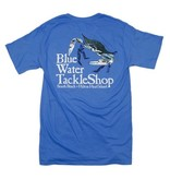 Hanes Blue Water Short Sleeve Crab in Carolina Blue