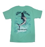 Bluewater Blue Water Sailfish Chart in Clean Mint