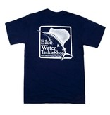 Hanes Blue Water Short Sleeve in Navy