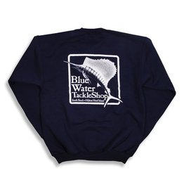 Bluewater Blue Water Crew Neck Sweatshirt in Navy
