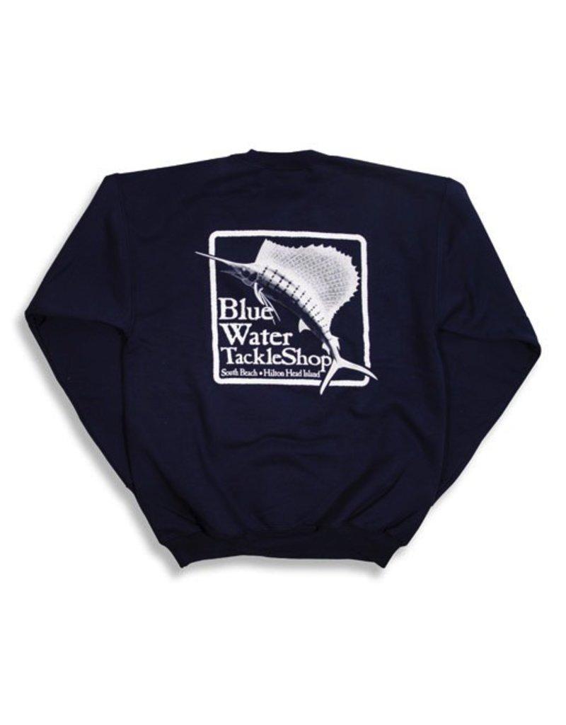 Bluewater Blue Water Crew Neck Sweatshirt in Navy