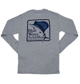 Bluewater Blue Water Long Sleeve in Light Steel