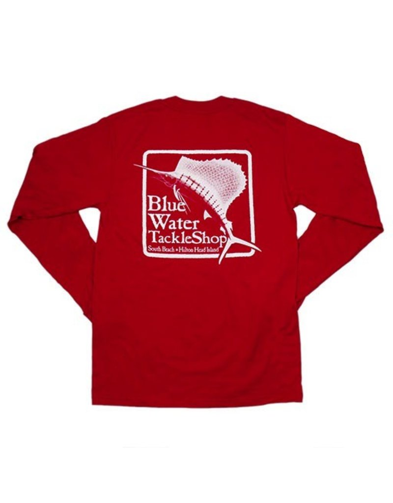 Bluewater Blue Water Long Sleeve in Red