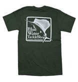 Bluewater Blue Water Short Sleeve in Fatigue Green