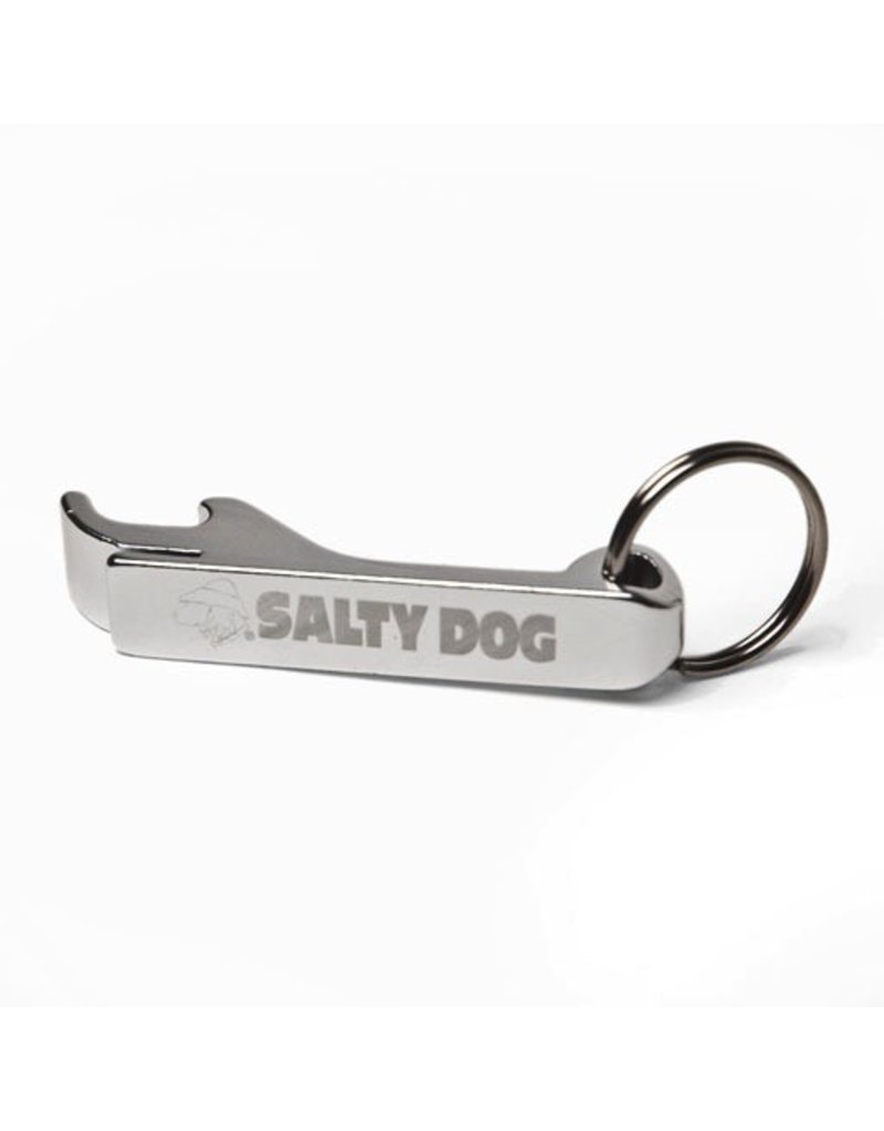 Product Aluminum Beverage Opener Key Chain in Silver