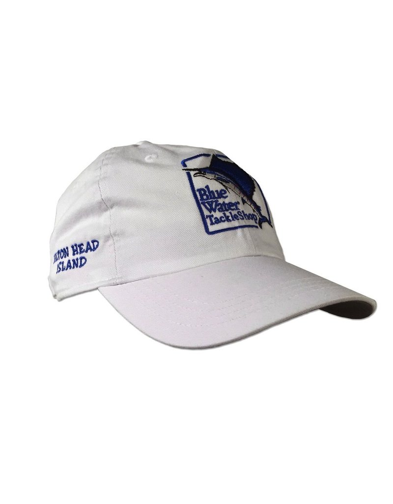 Bluewater Blue Water Classic Fit Hat in White