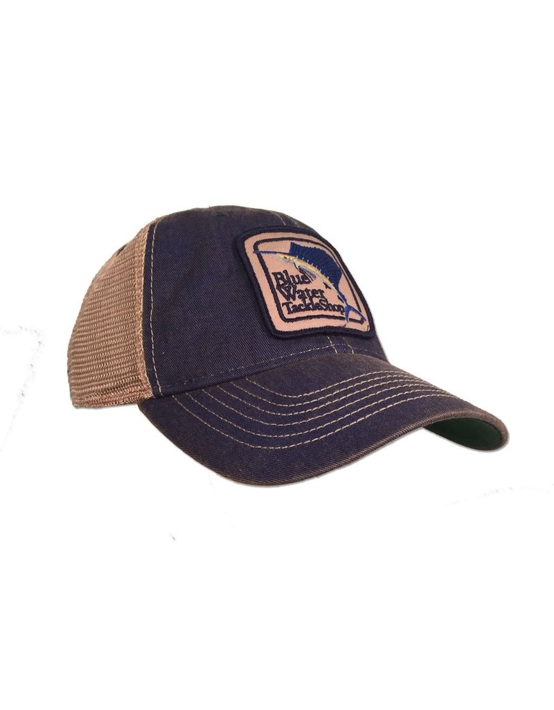 Hat Blue Water Old Favorite Trucker in Blue