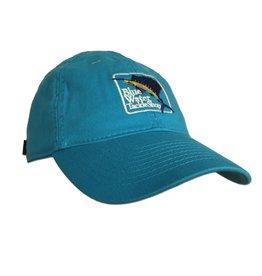 Hat Women's Blue Water Twill Hat in Aqua