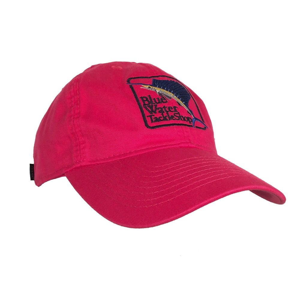 Legacy Youth Blue Water Twill Hat in Magenta