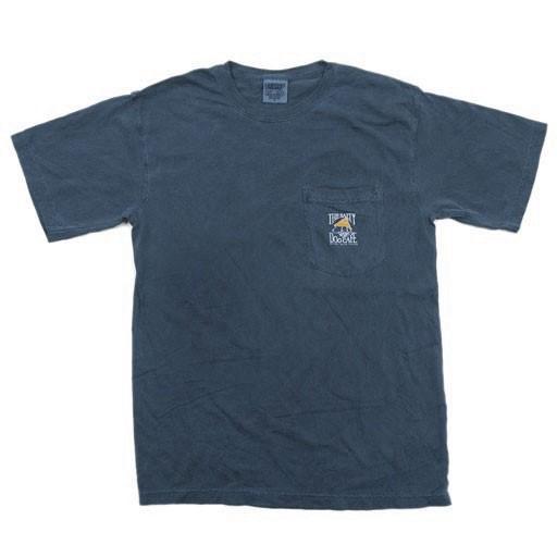 Comfort Colors Comfort Colors® Short Sleeve Pocket Tee in Navy