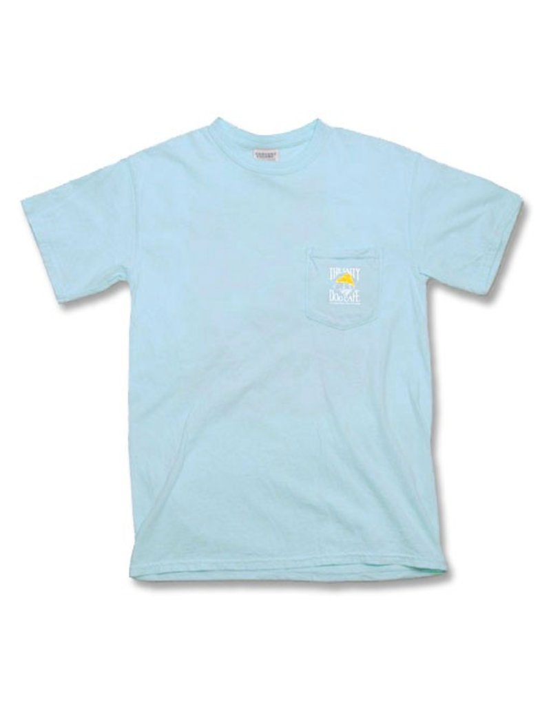 Apparel Comfort Colors® Short Sleeve Pocket Tee in Chambray