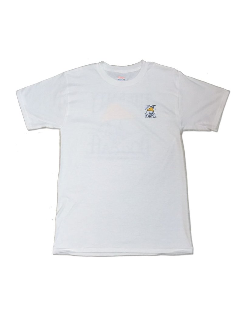 Hanes Hanes Beefy Short Sleeve in White