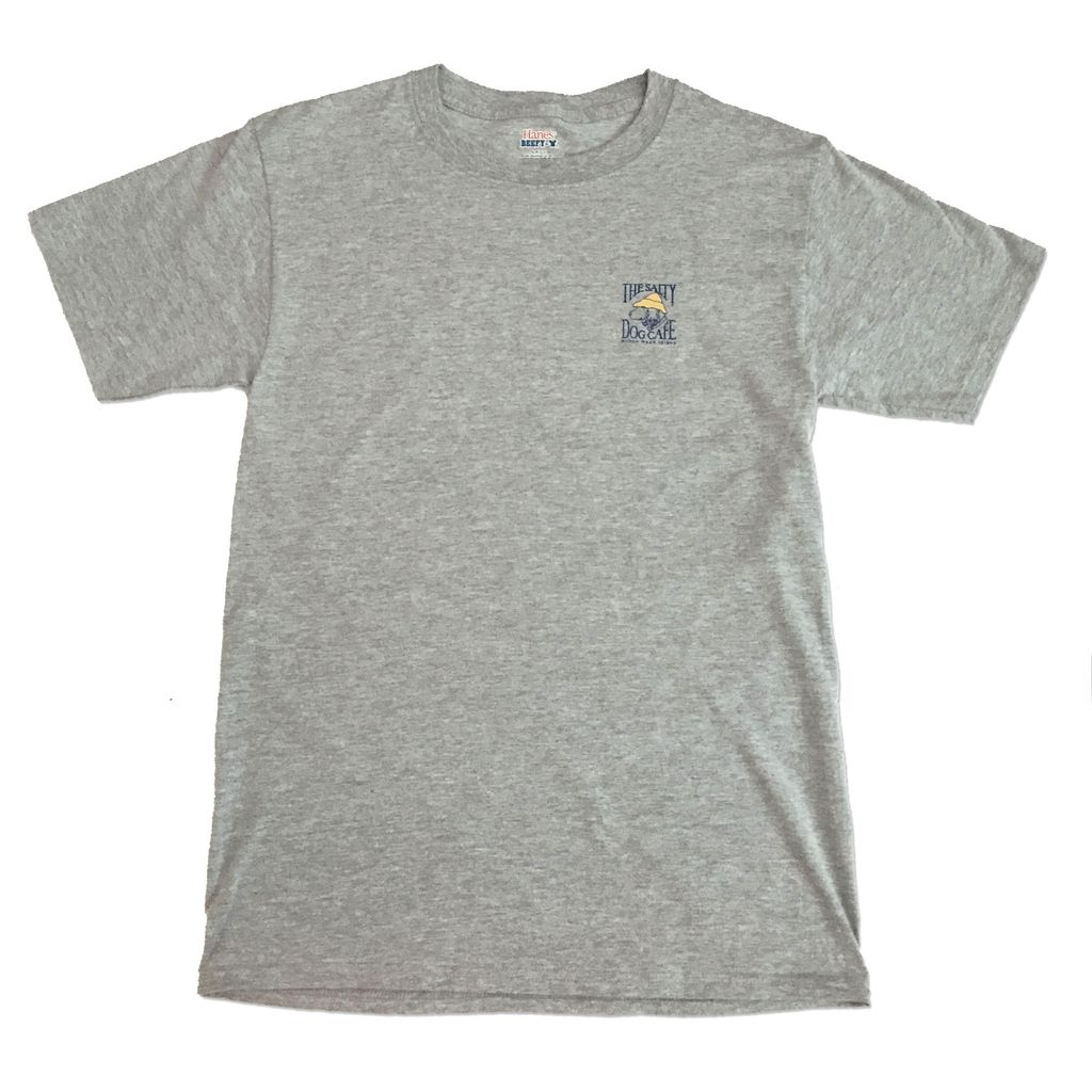 Hanes Hanes Beefy Short Sleeve in Light Steel
