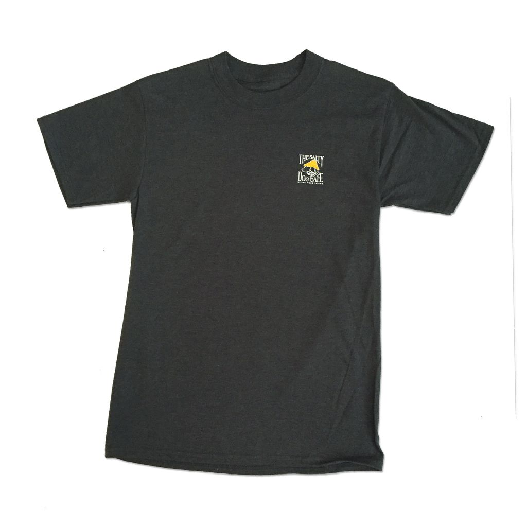 Hanes Hanes Beefy Short Sleeve in Charcoal Heather