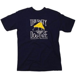 Hanes Hanes Beefy Short Sleeve in Navy