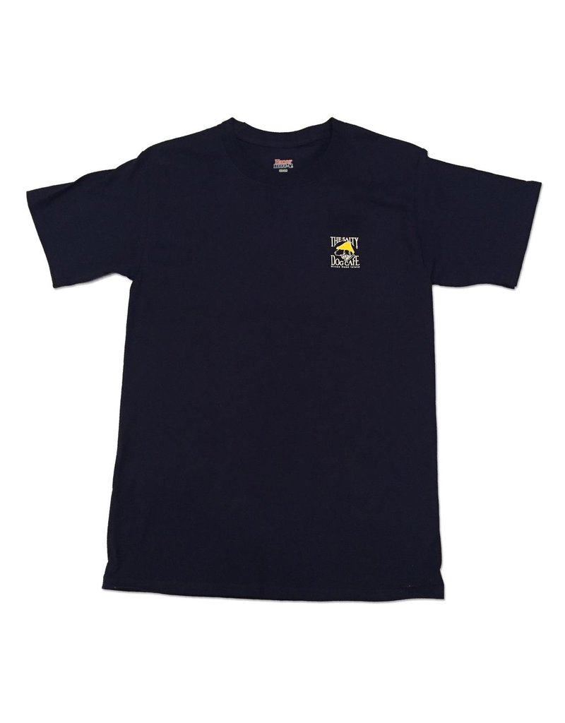 Apparel Hanes Beefy Short Sleeve in Navy