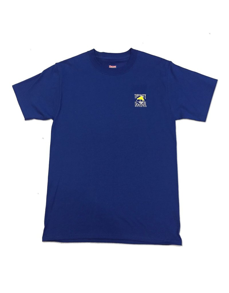 Apparel Hanes Beefy Short Sleeve in Deep Royal