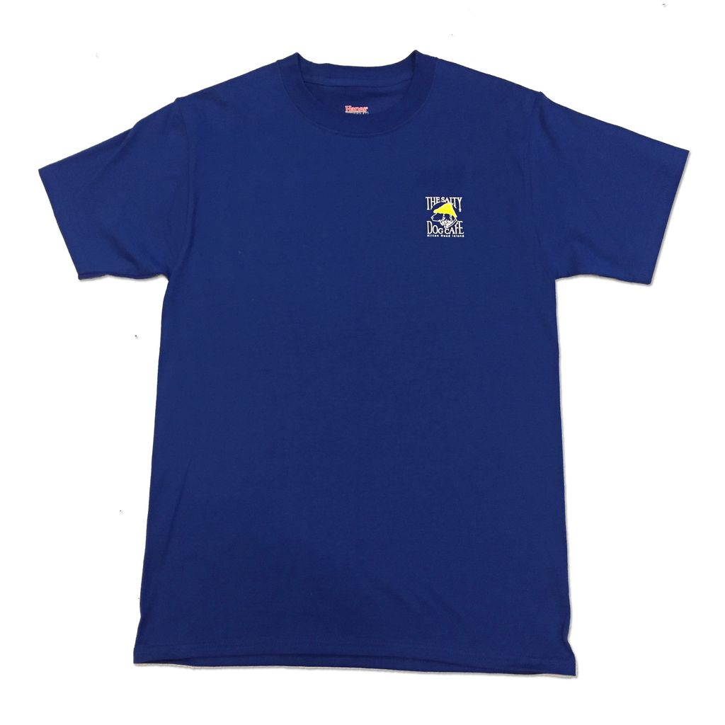 Hanes Hanes Beefy Short Sleeve in Deep Royal