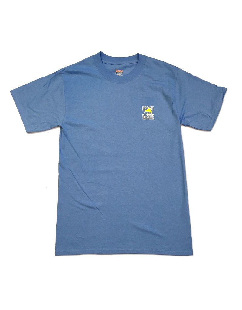 Apparel Hanes Beefy Short Sleeve in Carolina Blue