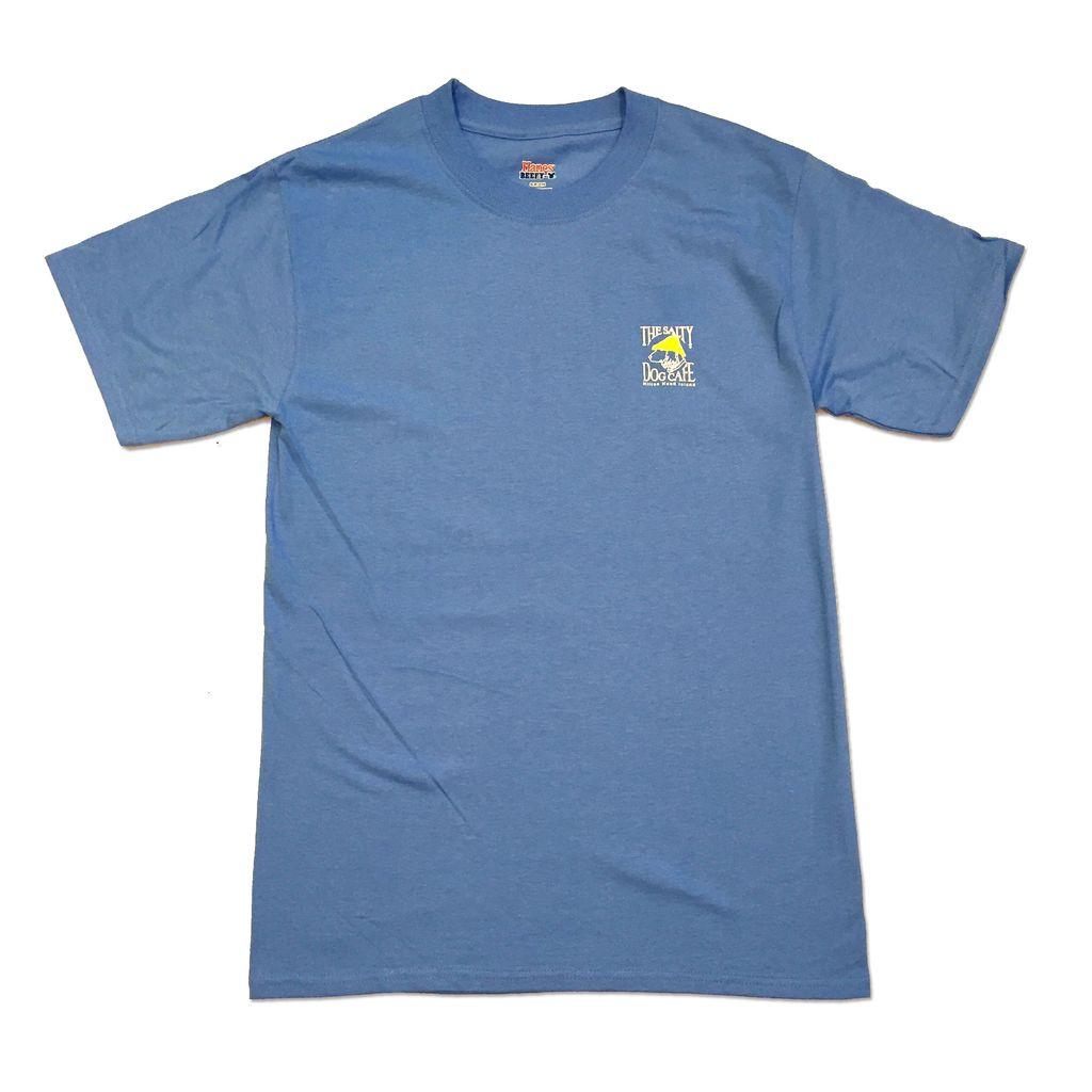 Hanes Hanes Beefy Short Sleeve in Carolina Blue