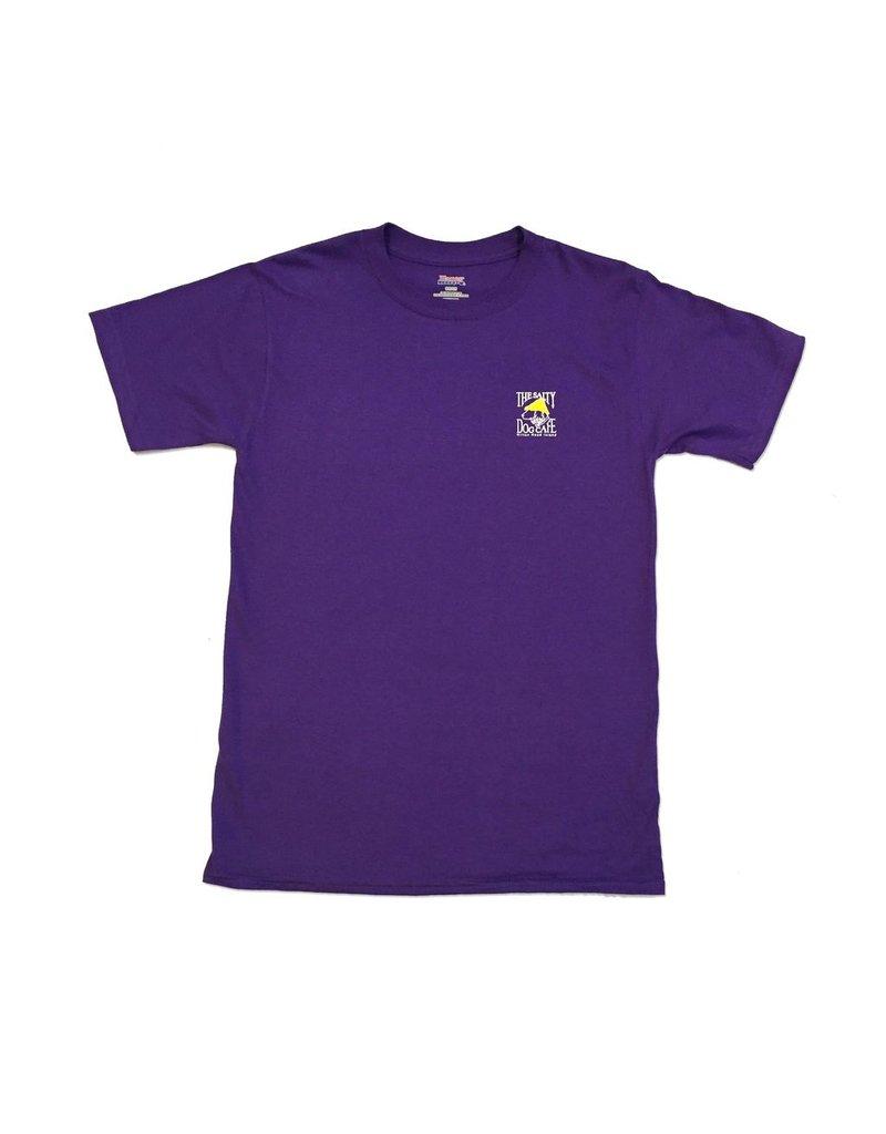 Apparel Hanes Beefy Short Sleeve in Purple