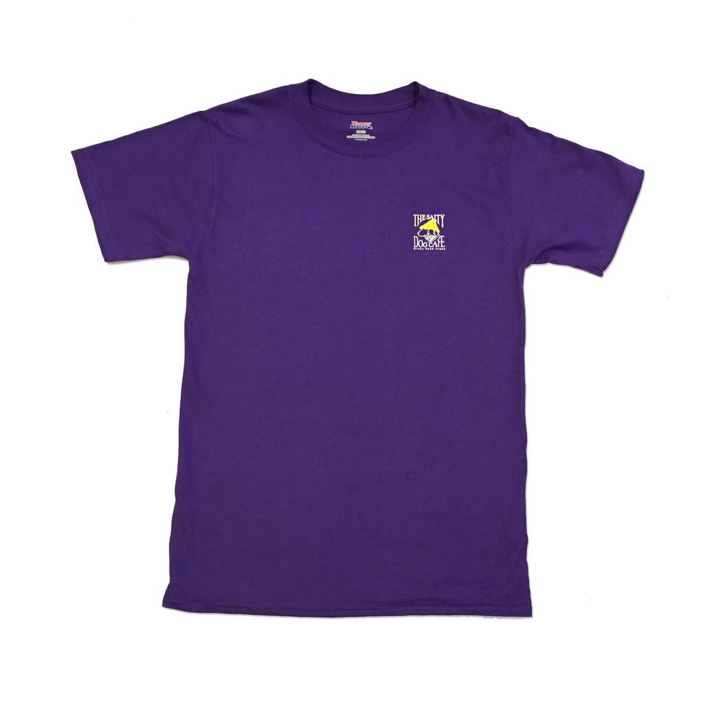 Hanes Hanes Beefy Short Sleeve in Purple