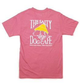 Apparel Hanes Beefy Short Sleeve in Pink