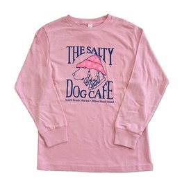 Specialty Prints Youth Luv Dog Long Sleeve in Pale Pink