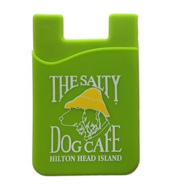Salty Dog Mobile Pocket in Lime Green