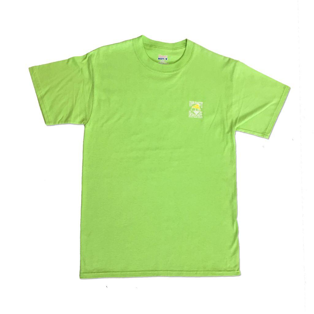 Hanes Hanes Beefy Short Sleeve in Lime