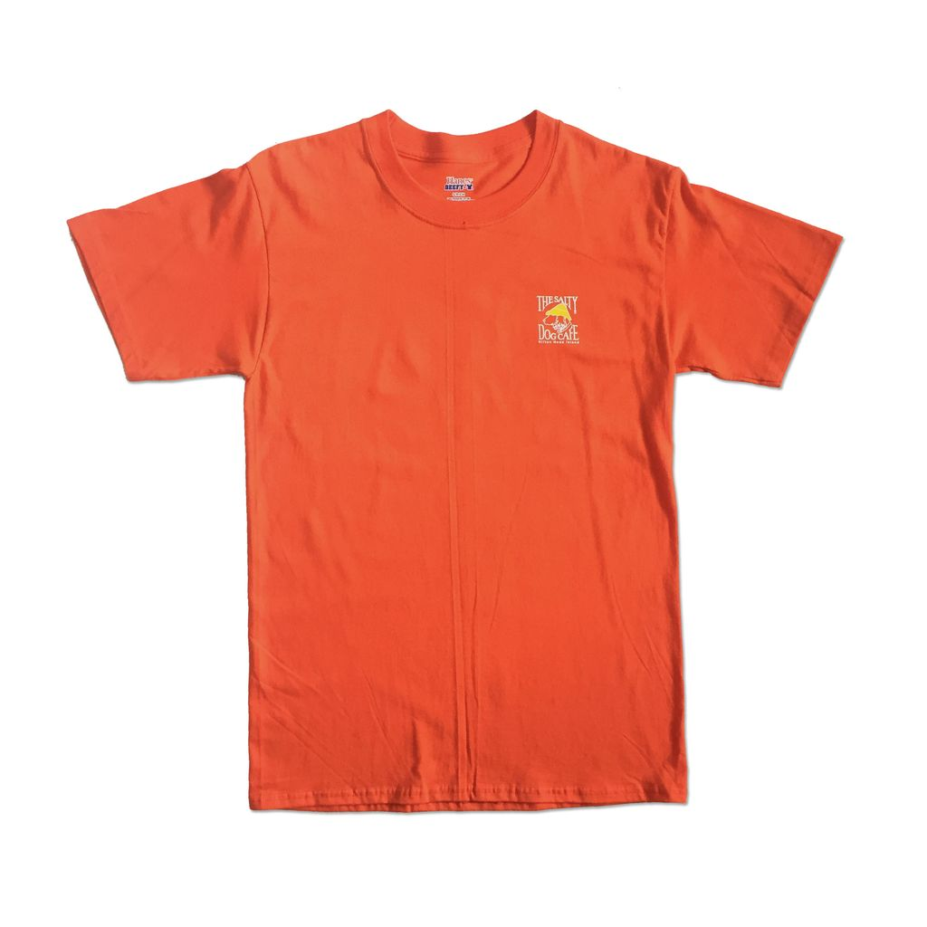 Hanes Hanes Beefy Short Sleeve in Orange
